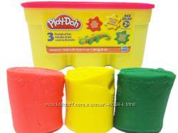 Пластилин Hasbro Play Doh  1. 36kg красный, желтый, зеленый
