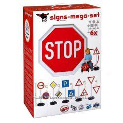 Игровой набор Дорожные знаки, 69 см, 6 шт.  1198