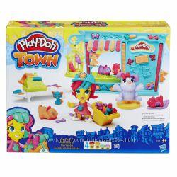 Пластилин Play-Doh Town Магазинчик домашних питомцев Hasbro B3418