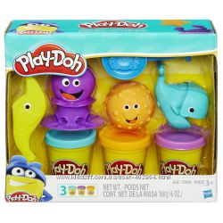 Пластилин плей дох Play-Doh Подводный мир Hasbro B1378