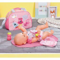 Сумка для беби борн Мамина забота с аксессуарами Zapf Baby Born 824436