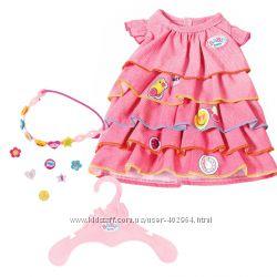 Платье для куклы Беби Борн Baby Born 2018 года  Zapf Creation 824481