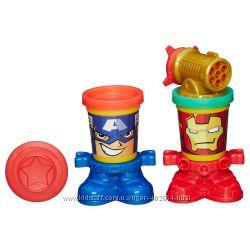 Пластилин Play-Doh Герои Марвел hasbro