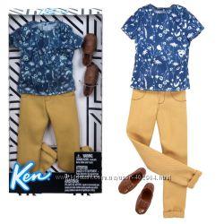 Одежда для Кена Barbie Футболка с принтом и брюки FKT44 FKT46