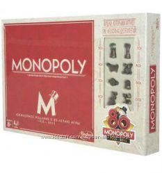Игра Монополия Юбилейный выпуск 80 лет Русский язык  B0622
