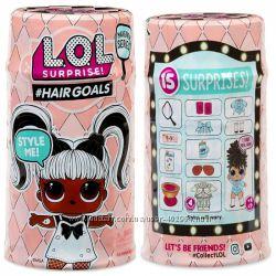 Кукла Лол с волосами 5 сезон Оригинал Опт lol Hairgoals MGA 556220