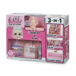 Игровой набор ЛОЛ Модный подиум LOL Surprise Pop-Up Store MGA 552314