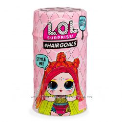 Кукла ЛОЛ LOL Hairgoals 5 серия 2 волна лол с волосами  Оригинал опт