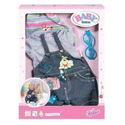 Джинсовая одежда для куклы Baby born Zapf Creation 822210