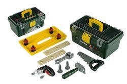 игрушечные инструменты Bosch с шуруповертом свет, звук, 13 предметов