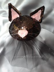 Шляпка декоративная Кошечка