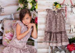Платье Моне на 7-8 лет