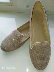 Стильные балетки Zara на принцессу размер 37