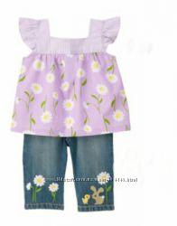 Комплект Gymboree Daffodil Garden