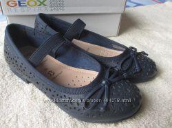 Кожаные туфли Geox Plie р. 29 18, 5см