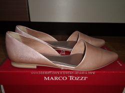 Балетки Marco Tozzi, р. 39, стелька 25, 5 см. Состояние идеальное