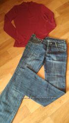 продам джинсы и кофточку. новое