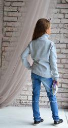 Стильные джинсы для девочек.