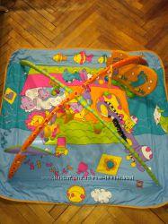 Продам развивающий коврик Зоосад Tiny Love