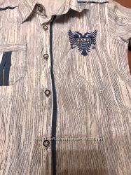 Рубашка, рост 110-122см