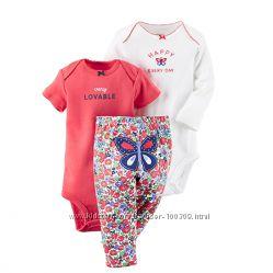 Комплект Картерс для новонародженої дівчинки