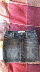 H&M юбка джинсовая