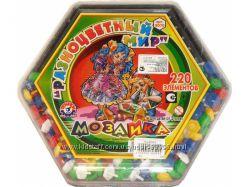Мозаика Цветной мир ТЕХНОК 200 элементов