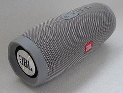 Колонка портативная Bluetooth JBL Charge 3 Серая