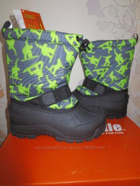 Сапоги, сноубутсы Northside Frosty Snow Boot р. 12 USA