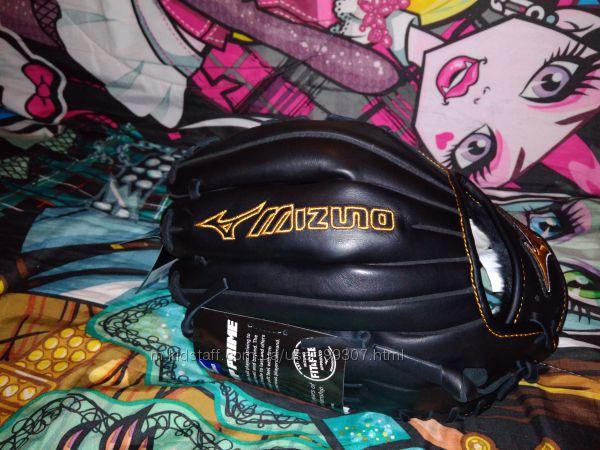 Бейсбольная ловушка перчатка Mizuno, оригинал, 11.5 дюймов, кожа, качество