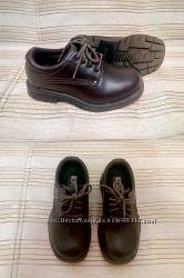 Туфли кожаные Skechers, стелька 17-17, 5 см.