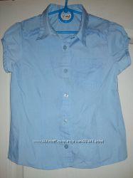 Блузка с пышными рукавами Next размер 116 см 6 лет
