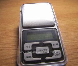 Весы карманные электронные MH-200 200 г, d0, 01 г новые