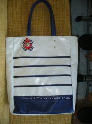 Красивейшая сумка в морском стиле из эко-кожи-новая