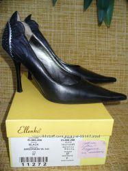 Шикарные вечерние кожаные туфли 37 р. одеты 1 разДаром