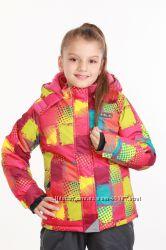 Зимняя куртка для девочки, шикарная р. 140-158 до -30 град PIDILIDI Чехия