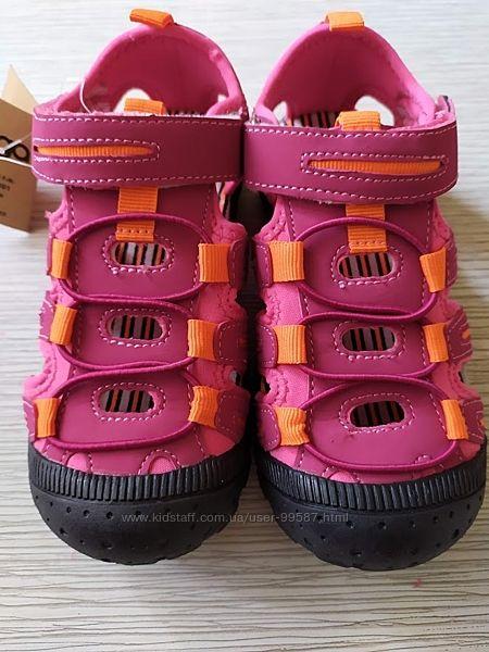 Спортивные босоножки  с закрытым носком для мальчиков и девочек  р.28-38