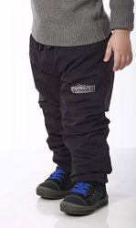 Теплые непромокаемые штаны на флисе PIDILIDI р. 86-158. Идеально на осень