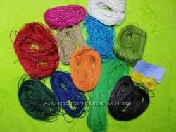 Цветной вощеный шнур для шамбалл