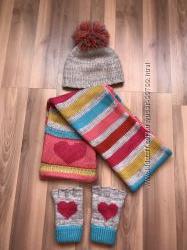Шапки , шарфы , перчатки для девочки