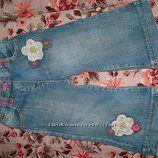 клёвые джинсики девчонке до95см ростом