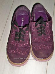 туфли оксфорды для  стильной девочки