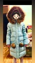 Новое пальто для девочки Кико, оригинал  Р 146