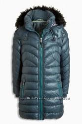 Теплое пальто Next р. 9 лет, 134