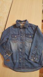 Джинсовая рубашка Palomino на мальчика, 110 см