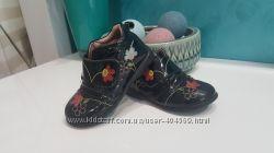 Кожаные деми ботиночки, 24 размер