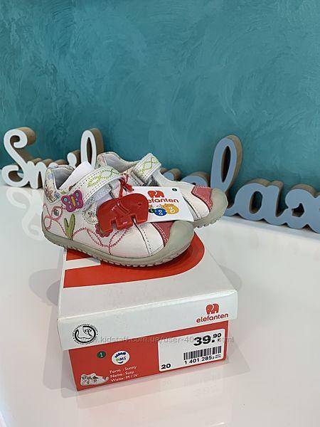 Туфельки на девочку австрийской фирмы Elefanten, 20 размер