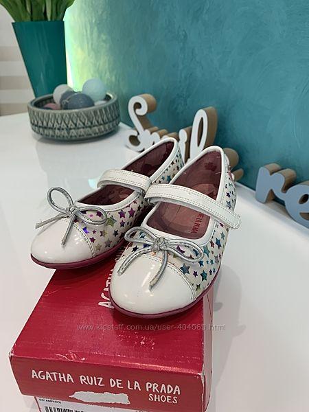 Праздничные туфельки Agatha Ruiz, 26-27 размера
