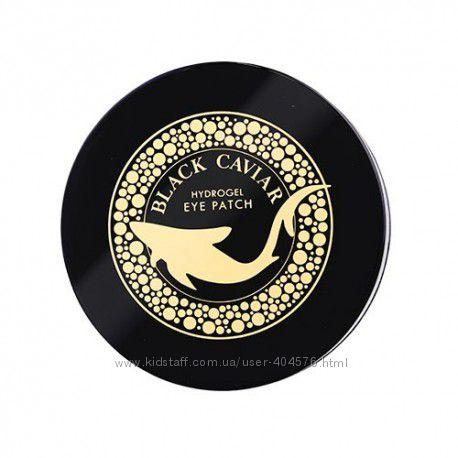 Патчи с черной икрой Esfolio Black Caviar Hydrogel Eye Patch