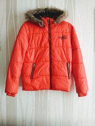 Куртка C&A CundA, пуховик, еврозима, рост 158, б/у
